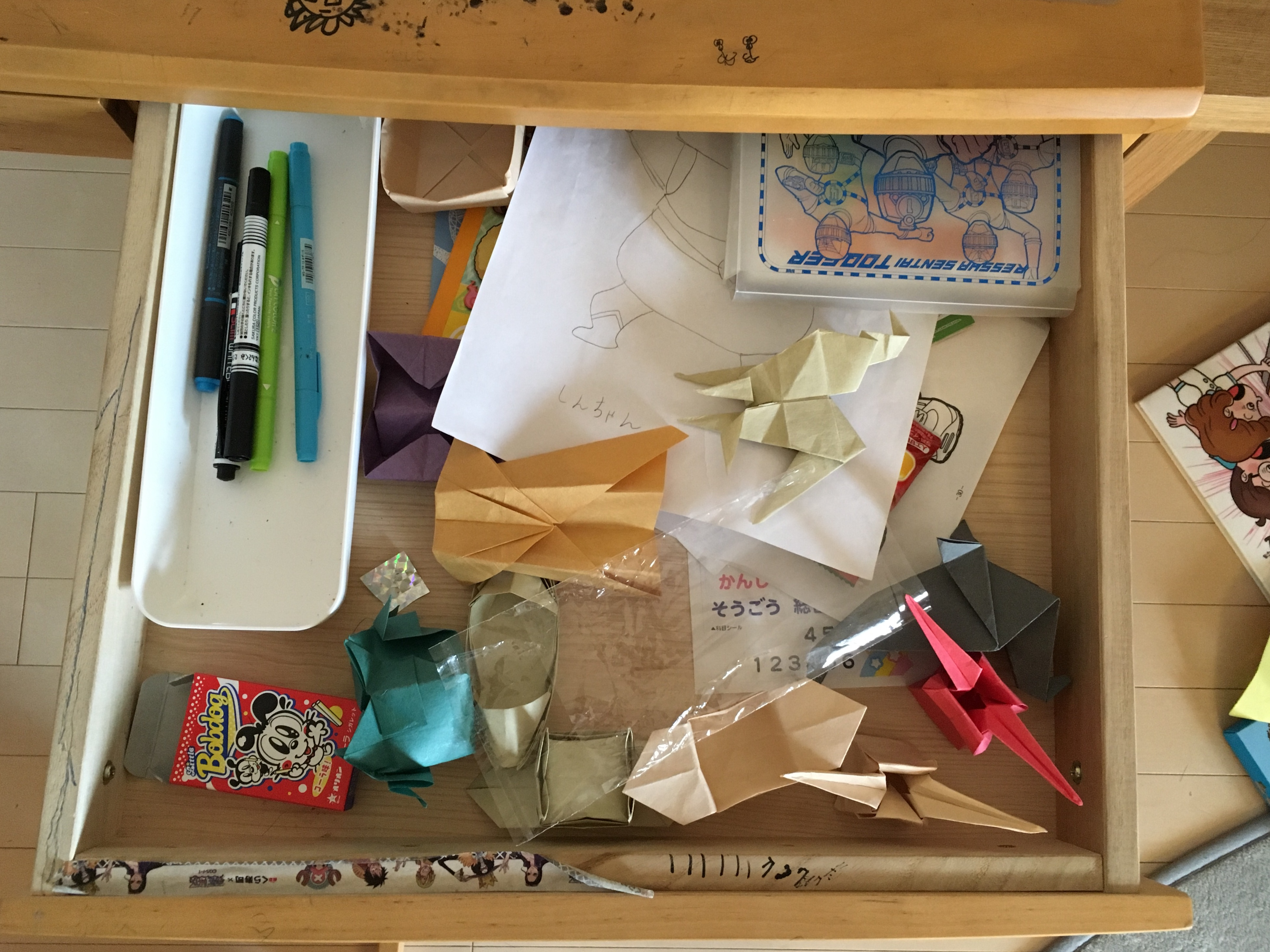 収納を整えてみた!小学4年生男子の「机の引き出し」