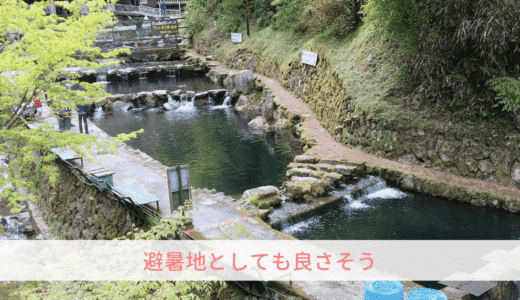 幼児も体験できるマス釣りへGO!@大阪府唯一の村|千早赤阪村マス釣り場